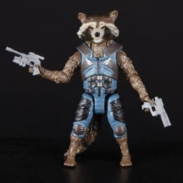 avengers infinity war marvel legends thor, groot and rocket pack - rocket full