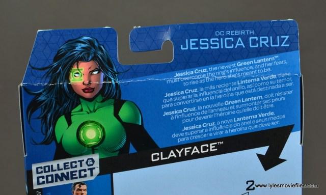 dc multiverse jessica cruz figure review - package bio
