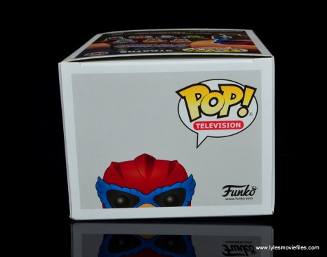 funko pop! stratos figure review -package top