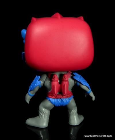 funko pop! stratos figure review - rear