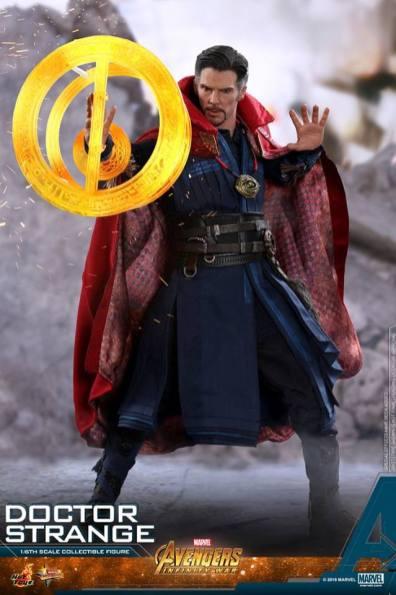 hot toys avengers infinity war doctor strange figure -circle spell