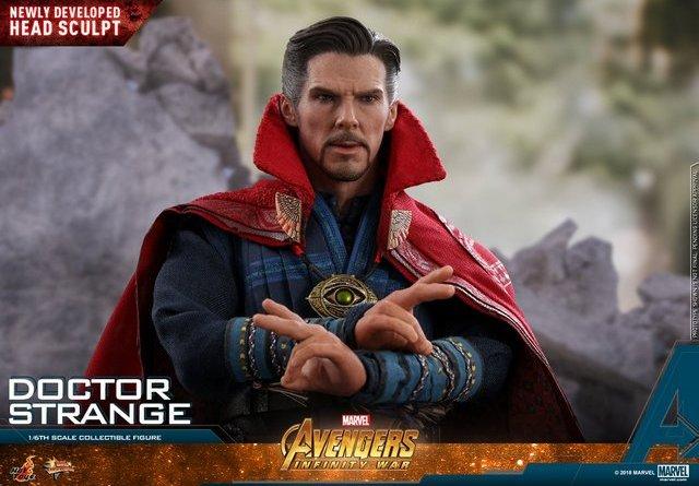 hot toys avengers infinity war doctor strange figure - conjuring spell