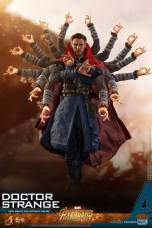 hot toys avengers infinity war doctor strange figure -magic arms