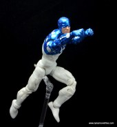 marvel legends cosmic spider-man figure review - captain universe flying