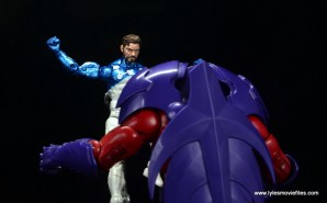 marvel legends cosmic spider-man figure review - fighting onslaught