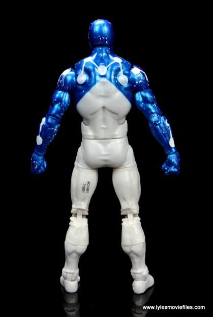 marvel legends cosmic spider-man figure review - rear