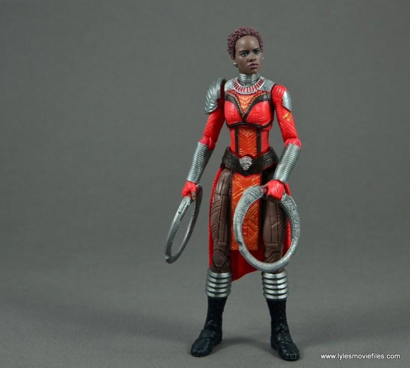 marvel legends nakia figure review - preparing for battle