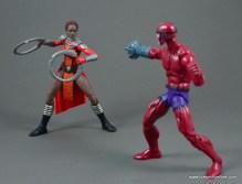 marvel legends nakia figure review - vs klaw