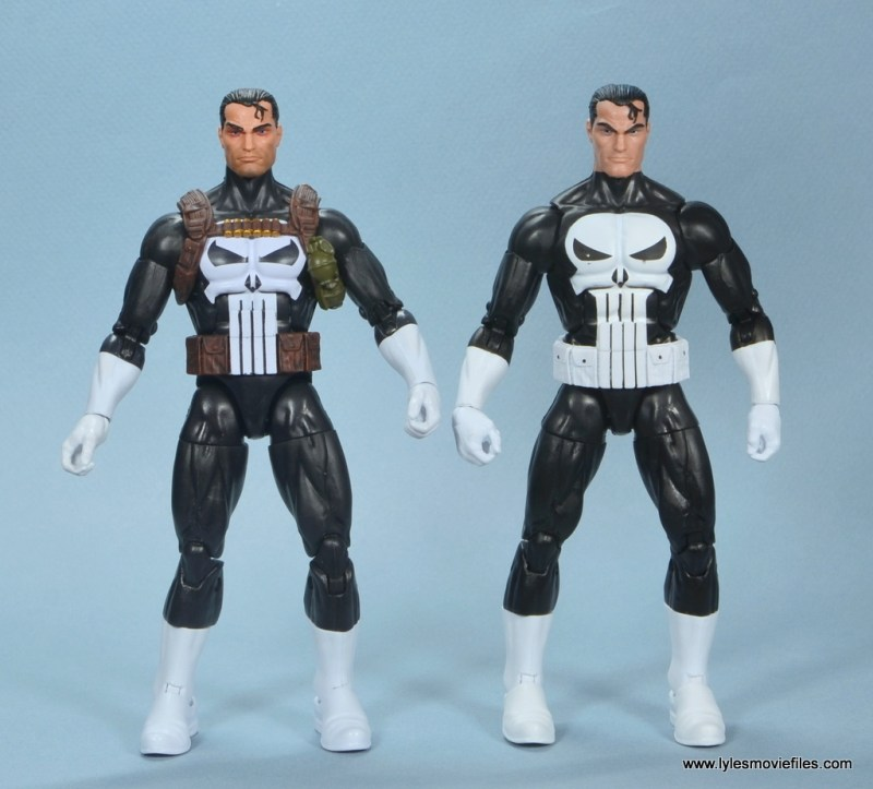 marvel legends the punisher retro figure review - with walgreens exclusive