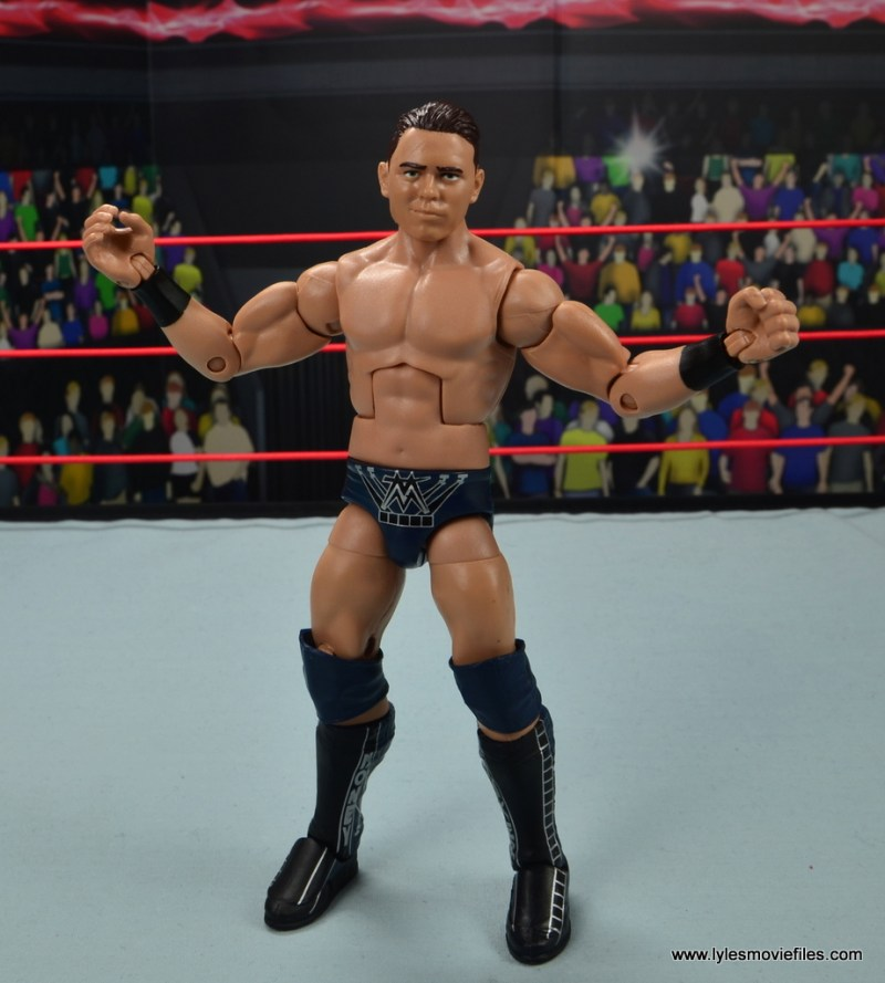 wwe elite 53 the miz figure review - arms out