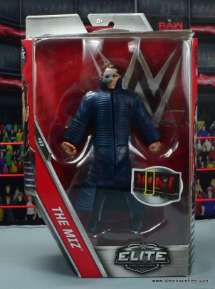 wwe elite 53 the miz figure review - package front