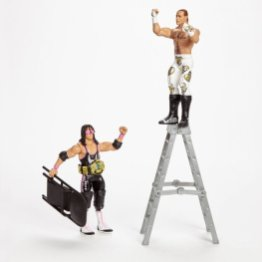 wwe hall of champions two pack bret hart vs shawn michaels ladder match