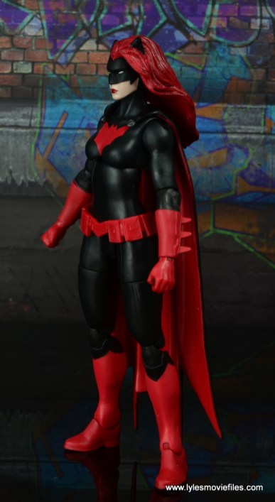 dc multiverse batwoman figure review - left side