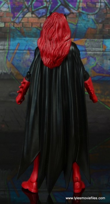 dc multiverse batwoman figure review - rear