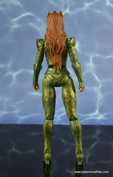 dc multiverse mera figure review - rear