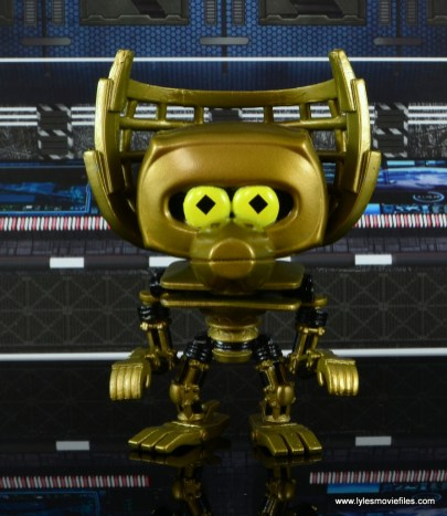 funko pop crow t. robot and tom servo figure review - crow t. robot front
