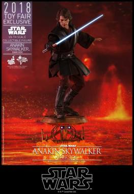 hot toys dark side anakin skywalker figure - balancing
