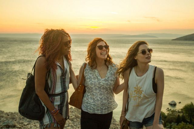 ibiza movie review - phoebe robinson, vanessa beyer and gillian jacobs