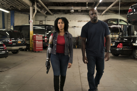 luke cage on and on review -misty and luke