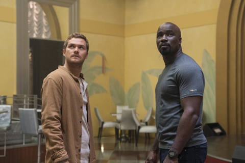 luke cage the main ingredient review - danny and luke