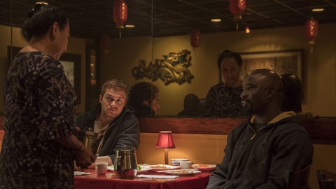 luke cage the main ingredient review - jade wu, finn jones and mike colter
