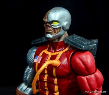 marvel legends deathlok figure review - left side detail