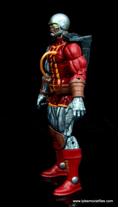 marvel legends deathlok figure review - left side