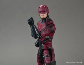 marvel legends netflix daredevil figure review -gauntlet detail