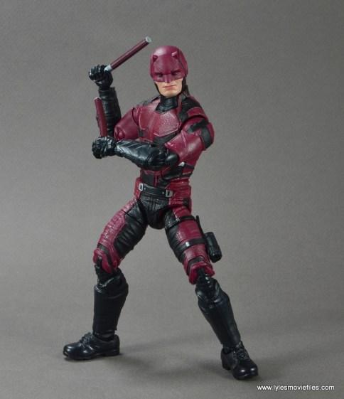 marvel legends netflix daredevil figure review -ready for battle