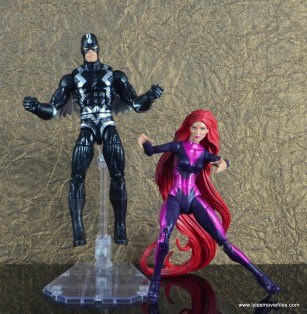 marvel legends the thanos imperative sdcc set review - black bolt and medusa