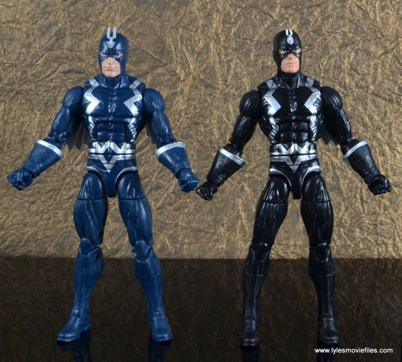 marvel legends the thanos imperative sdcc set review - black bolt with blue black bolt