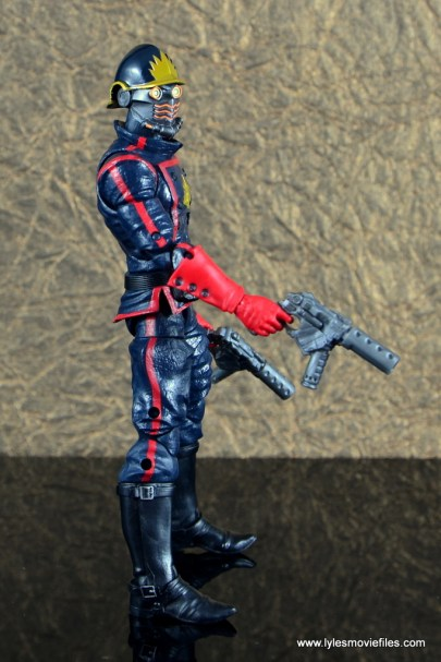marvel legends the thanos imperative sdcc set review - star-lord right side