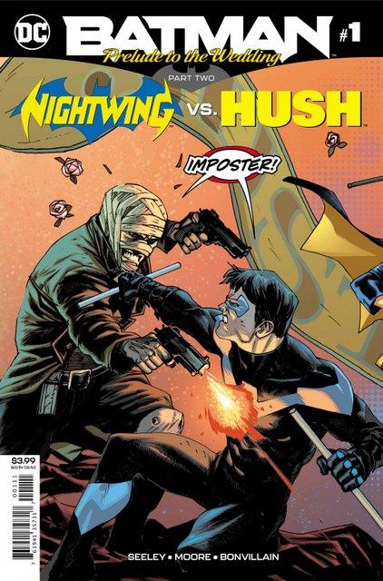 nightwing vs hush
