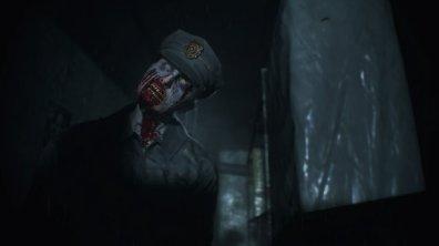 resident evil 2 cop zombie
