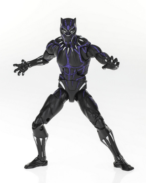 MARVEL BLACK PANTHER LEGENDS SERIES 6-INCH Figure Assortment - Black Panther Vibranium