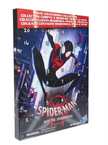 MARVEL SPIDER MAN INTO THE SPIDER-VERSE COUNTDOWN COLLECTION - in pkg
