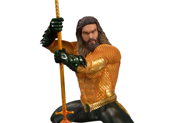 aquaman movie statues - aquaman