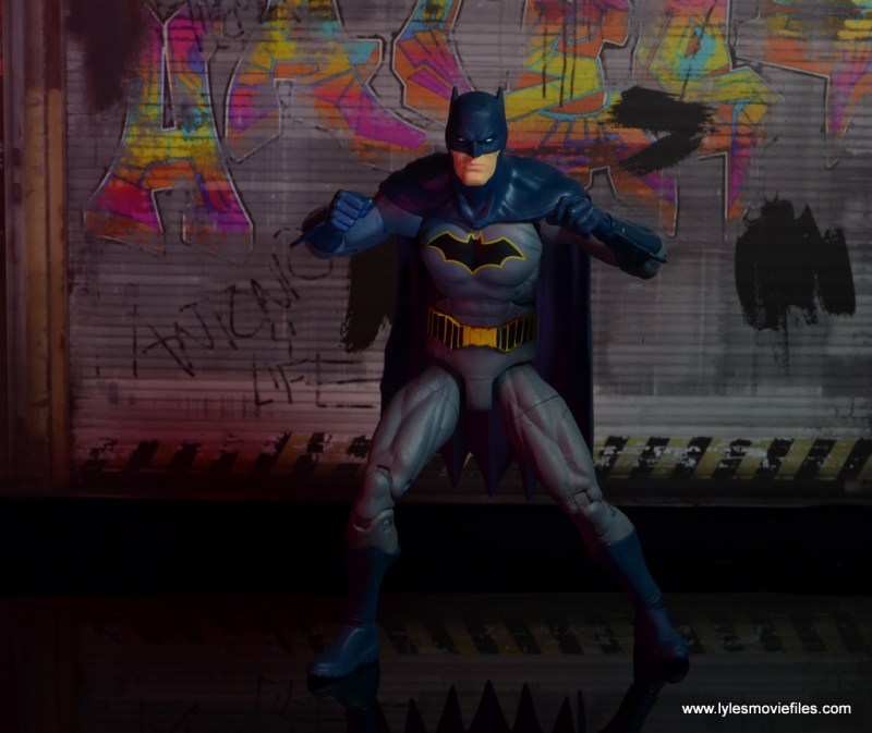 dc essentials batman figure review -ready to fight