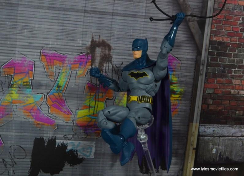 dc essentials batman figure review -swinging in