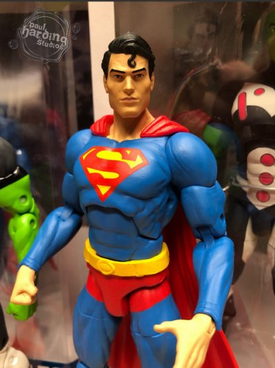 dc essentials superman figure