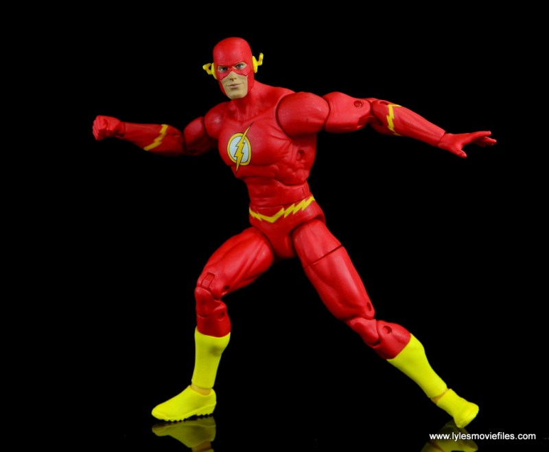 dc essentials the flash figure review -coming to a halt