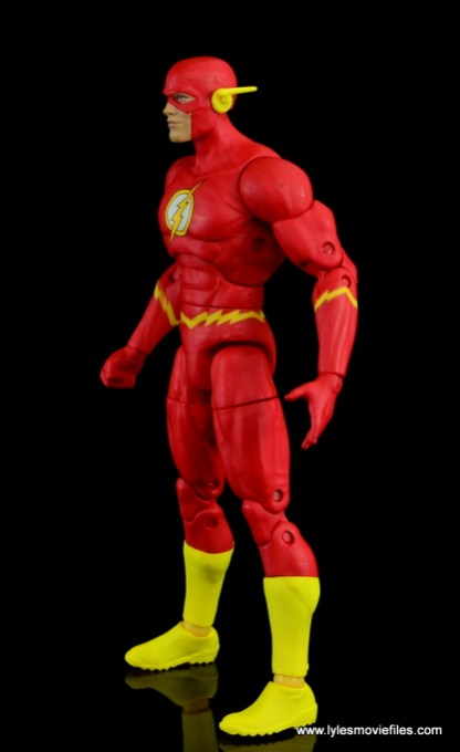 dc essentials the flash figure review - left side