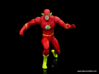 dc essentials the flash figure review -runner position