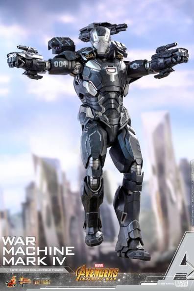 hot toys avengers infinity war war machine figure -landing