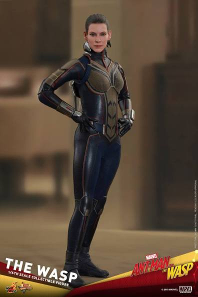 hot toys the wasp figure -full outfit