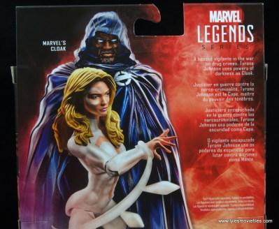 marvel legends cloak and dagger figure review - cloak bio