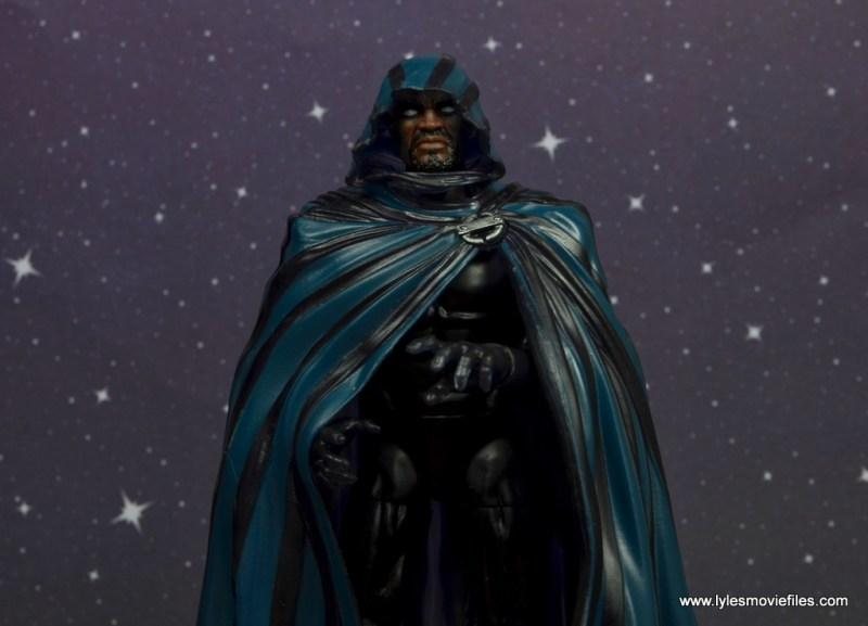 marvel legends cloak and dagger figure review - cloak detail