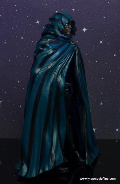 marvel legends cloak and dagger figure review - cloak right side