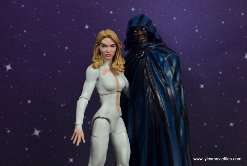 marvel legends cloak and dagger figure review - wide pic