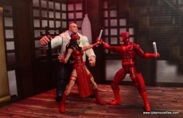 marvel legends elektra figure review -defending kingpin